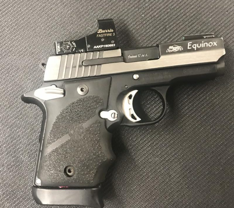 Sig Sauer P938 Equinox With Red Dot Sight Ctr Firearms